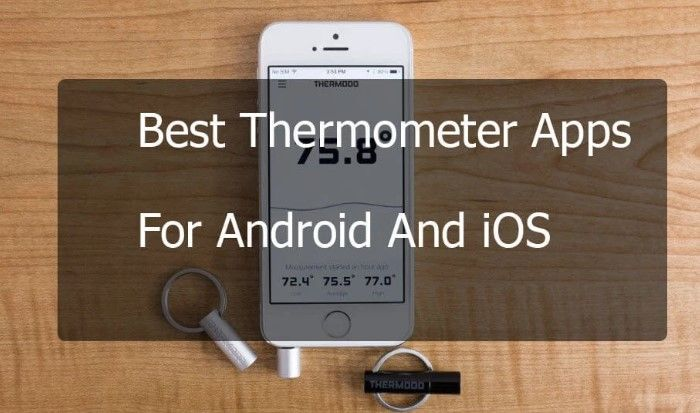 Best Room & Body Thermometer Apps