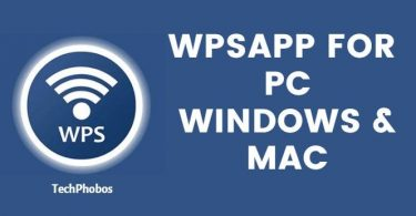 WPSApp for Windows PC